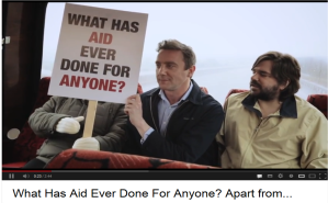 What has aid ever done for anyone